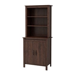 BRUSALI high cabinet with door, brown Width: 80 cm Depth: 48 cm Height: 190 cm