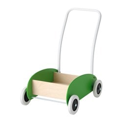 MULA toddle truck, green, birch