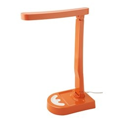 HARALIDEN LED table lamp, orange, white dimmable Height: 42 cm Cord length: 2.0 m