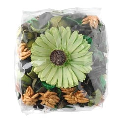 DOFTA potpourri, green, scented Net weight: 90 g