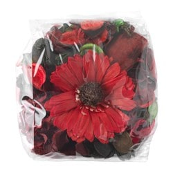DOFTA potpourri, red, scented Net weight: 90 g