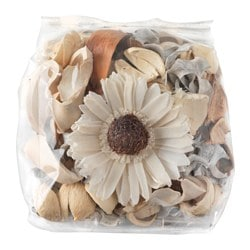 DOFTA potpourri, white, scented Net weight: 90 g