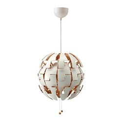 IKEA PS 2014 pendant lamp, white, copper-colour Max.: 13 W Diameter: 35 cm Cord length: 150 cm