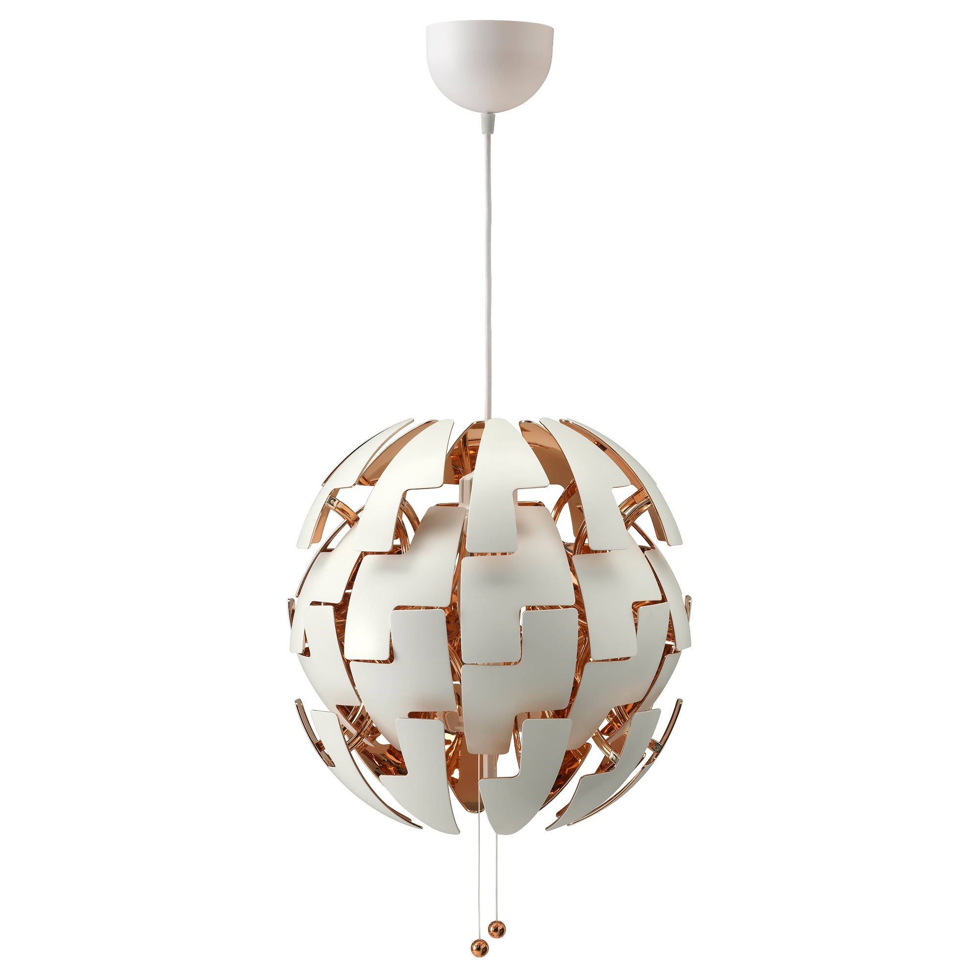 Ikea ps 2014 pendant lamp whitecopper color ikea mozeypictures Gallery