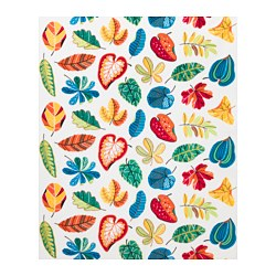 JONILL fabric, multicolour, white Weigth.: 250 g/m² Width: 150 cm Pattern repeat: 64 cm