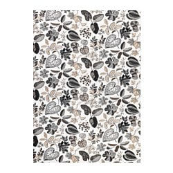SYSSAN fabric, beige, white Weigth.: 250 g/m² Width: 150 cm Pattern repeat: 64 cm