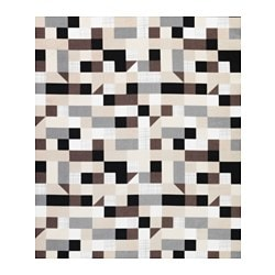 TULPANTRÄD fabric, beige/brown, white Weigth.: 250 g/m² Width: 150 cm Pattern repeat: 64 cm