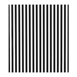 SOFIA plastic-coated fabric, black/white, broad-striped Width: 140 cm Area: 1.40 m²
