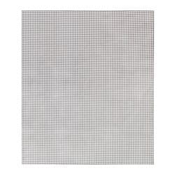 BERTA plastic-coated fabric, white, grey Width: 140 cm Pattern repeat: 2 cm Area: 1.40 m²