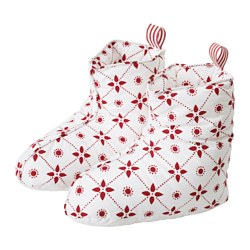 VINTER 2015 slippers, white/red Filling weight: 66 g Total weight: 140 g