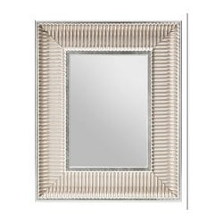 "STOREBÖ mirror, silver color Width: 15 "" Height: 18 1/2 "" Width: 38 cm Height: 47 cm"
