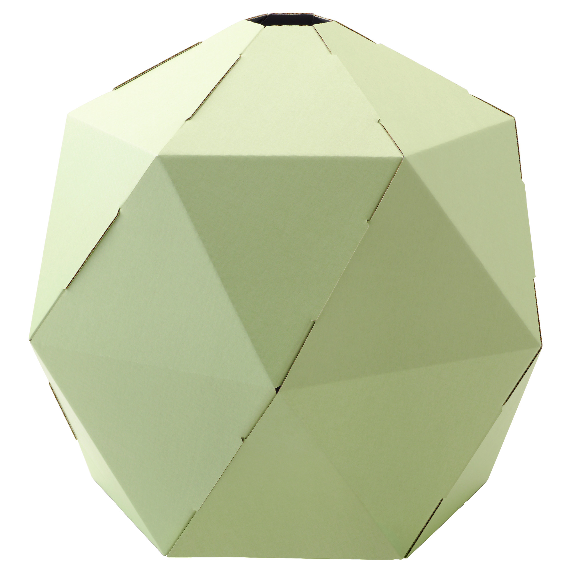 joxtorp pendant lamp shade light green diameter 17 height 15 diameter - Suspension Origami Ikea