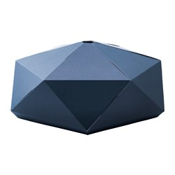 JOXTORP pendant lamp shade, dark blue Diameter: 82 cm Height: 30 cm