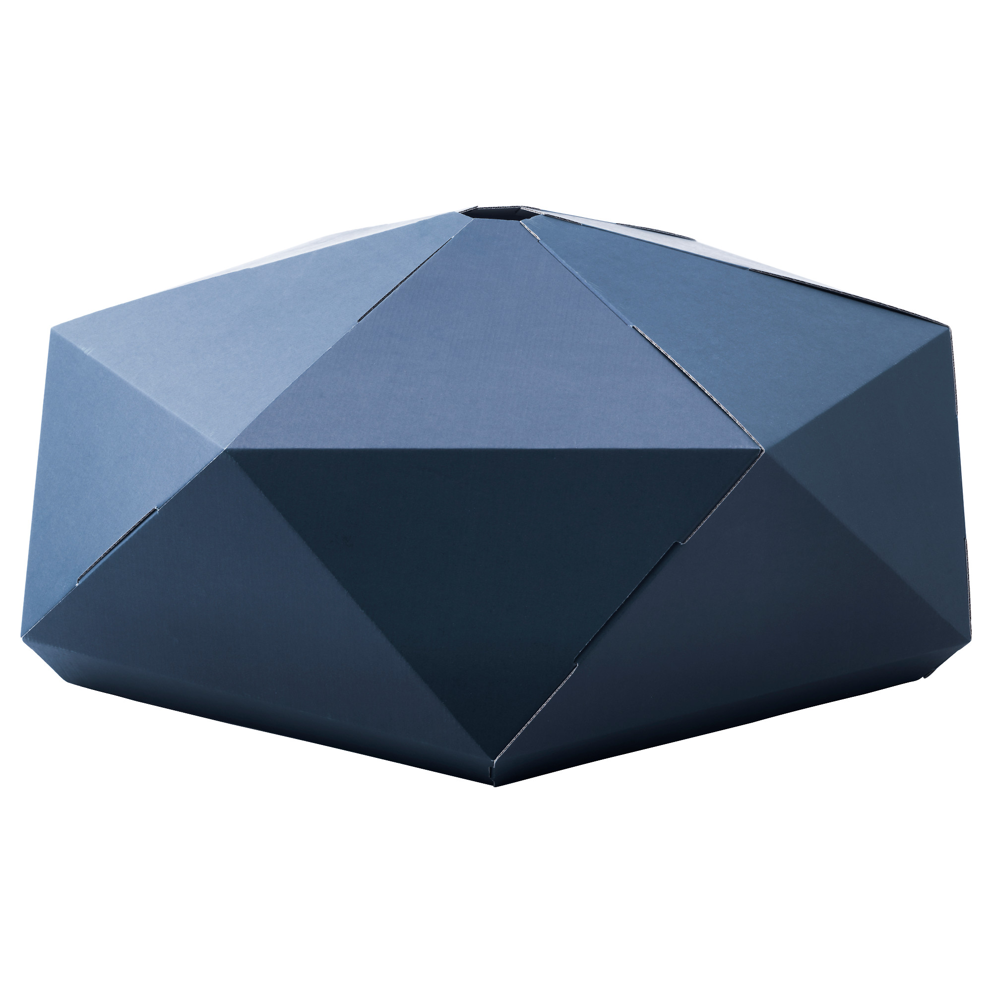 joxtorp pendant lamp shade dark blue diameter 32 height 12 diameter - Suspension Origami Ikea