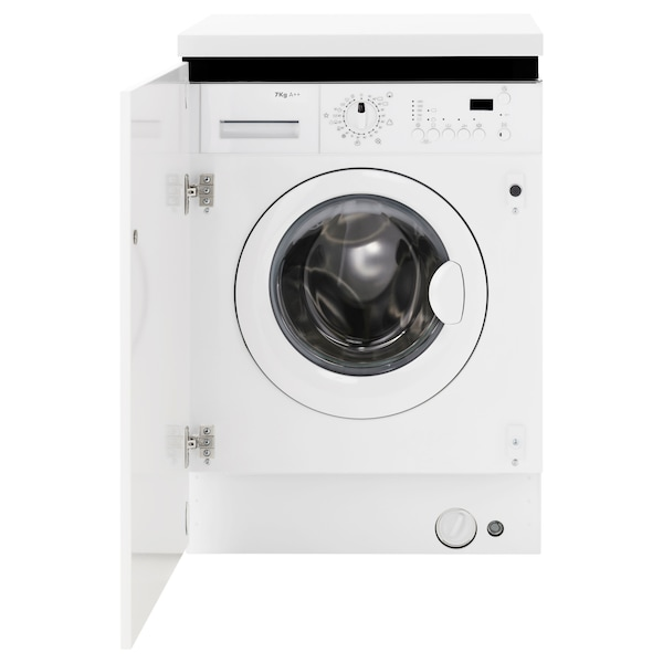 Integrated washing machine RENLIG white