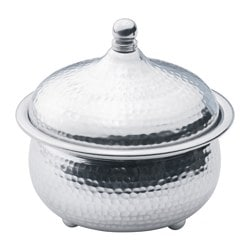 DOFTRIK bowl with lid, aluminium Diameter: 17 cm Height: 16 cm