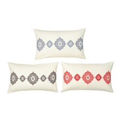 DOFTRIK cushion cover, assorted colours Length: 40 cm Width: 65 cm