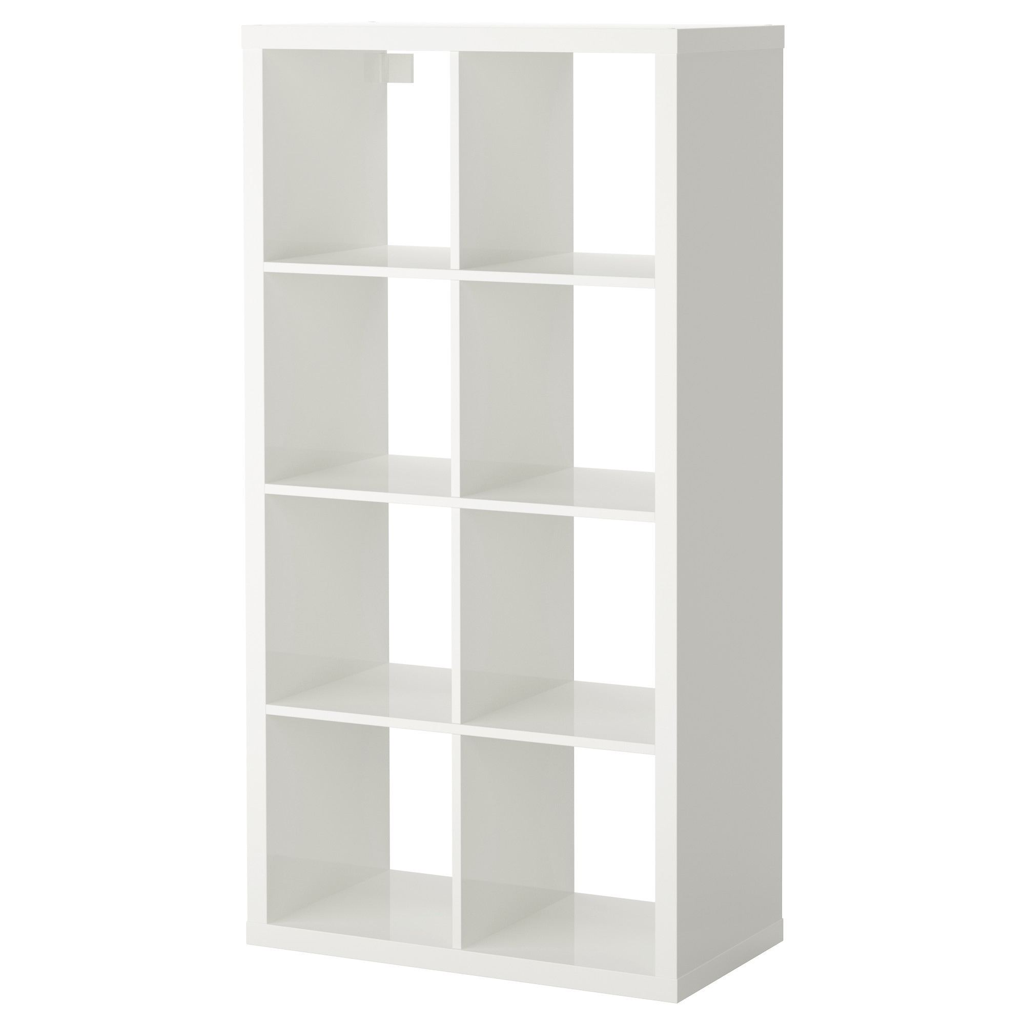 KALLAX Shelf unit - high gloss white - IKEA