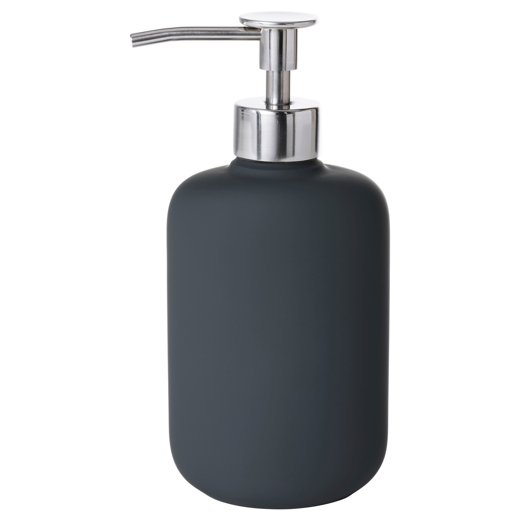 Plastic bathroom accessories uk - Ekoln Soap Dispenser Dark Gray Height 7 Volume 10 Oz Height