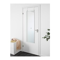 Attirant GARNES Over The Door Mirror, Door Hanging White