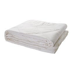 ALPSIPPA quilt, autumn white, spring Length: 220 cm Width: 240 cm Filling weight: 1850 g