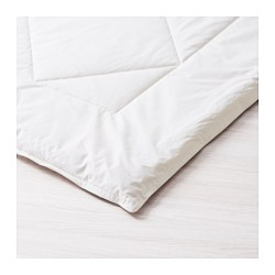ALPSIPPA quilt, winter, white Length: 230 cm Width: 200 cm Filling weight: 2300 g