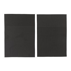IKEA 365+ tea towel, black Length: 70 cm Width: 50 cm Package quantity: 2 pack