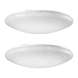 LEVANG LED ceiling lamp, assorted patterns Diameter: 42 cm Height: 11 cm