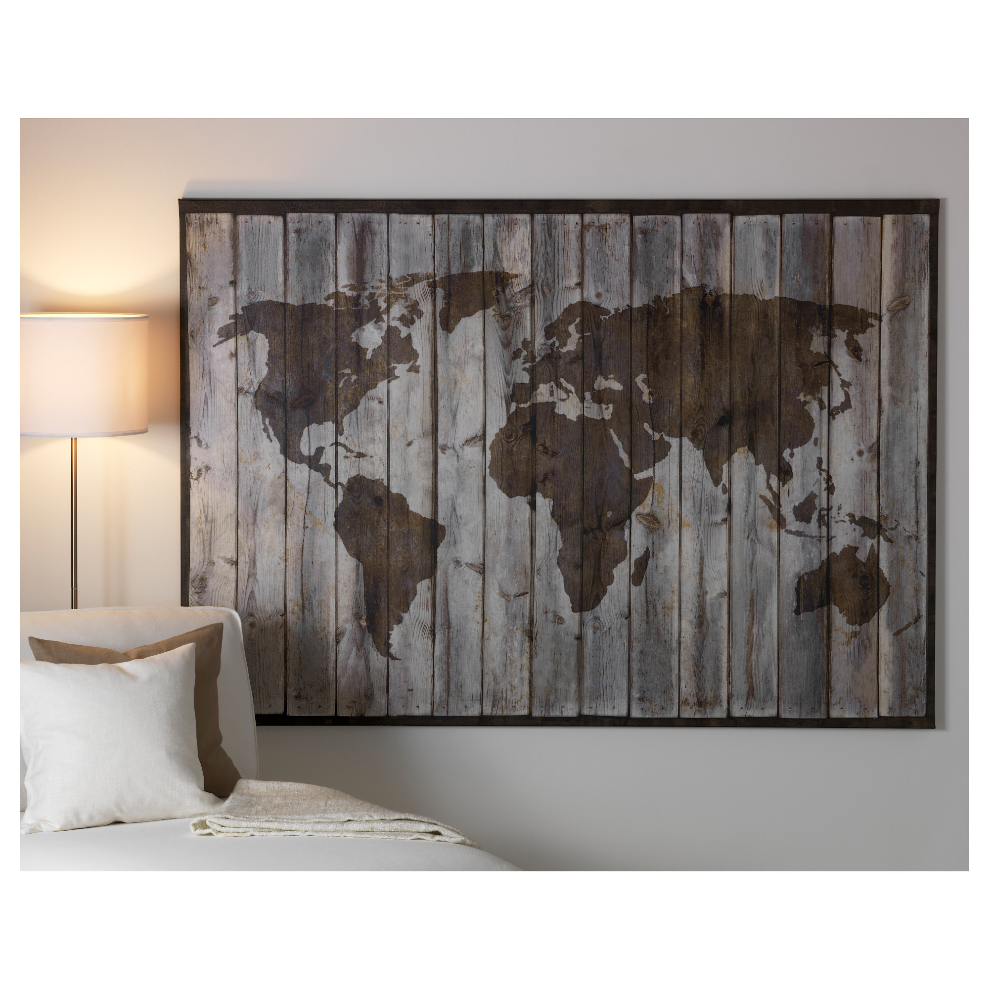 ikea world map canvas print with Ikea Wall Art Map on Retro World Map Canvas likewise 32656738920 together with Travel Photo Wall further Ikea Wall Art Map also 251281633609.