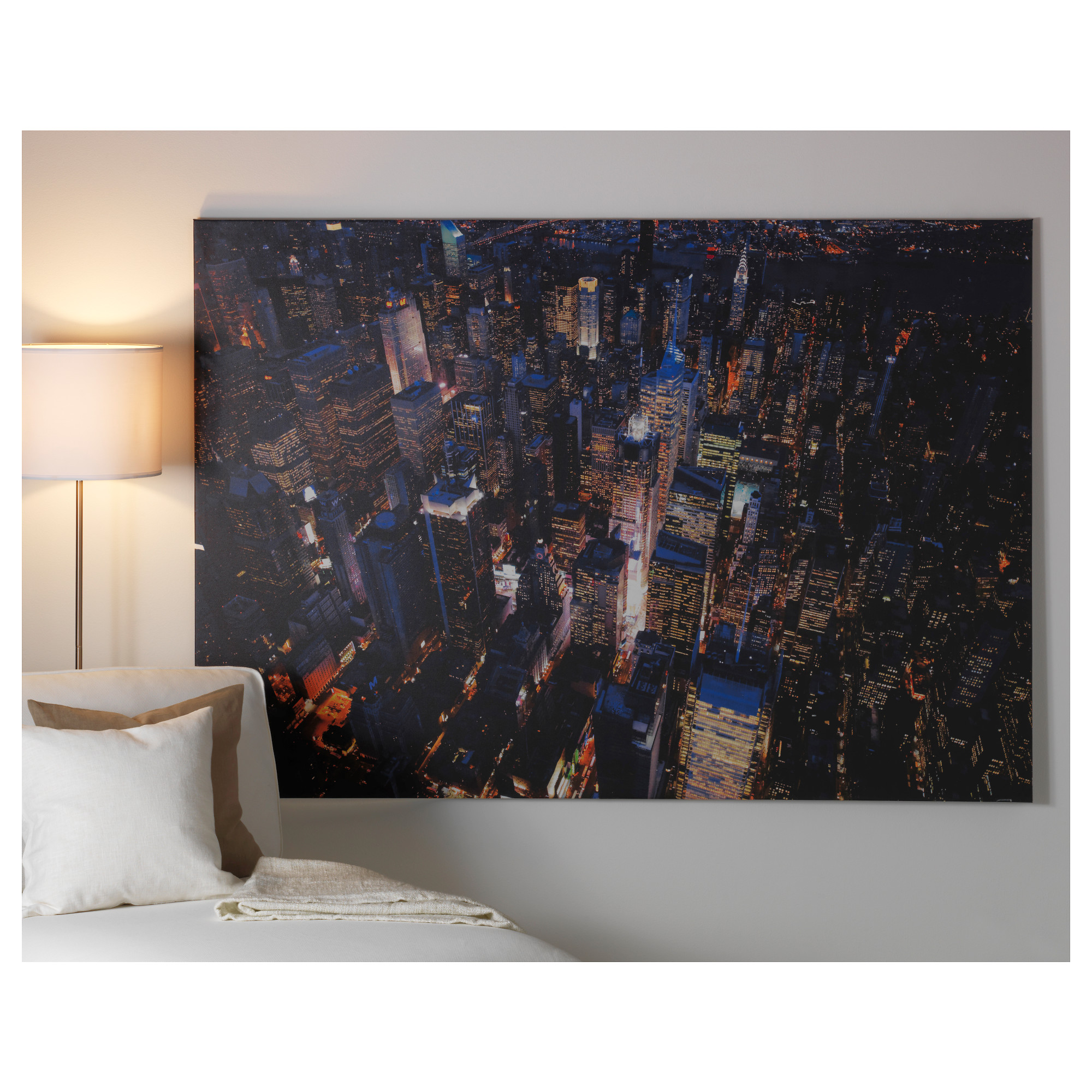 Ikea wall art map ready to hang frames pictures ikea with premi - Tableau ikea new york ...