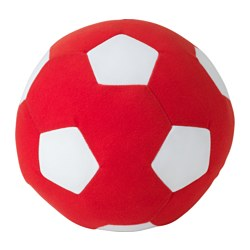 "SPARKA soft toy, red Diameter: 7 ¾ "" Package quantity: 1 pack Diameter: 20 cm Package quantity: 1 pack"