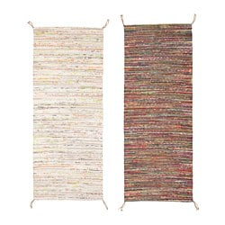 TÅNUM rug, flatwoven, assorted colours