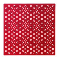 VINTER 2015 place mat, patterned, red Length: 37 cm Width: 37 cm Package quantity: 4 pieces