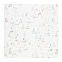 VINTER 2015 place mat, white tree-shaped Length: 37 cm Width: 37 cm Package quantity: 4 pieces