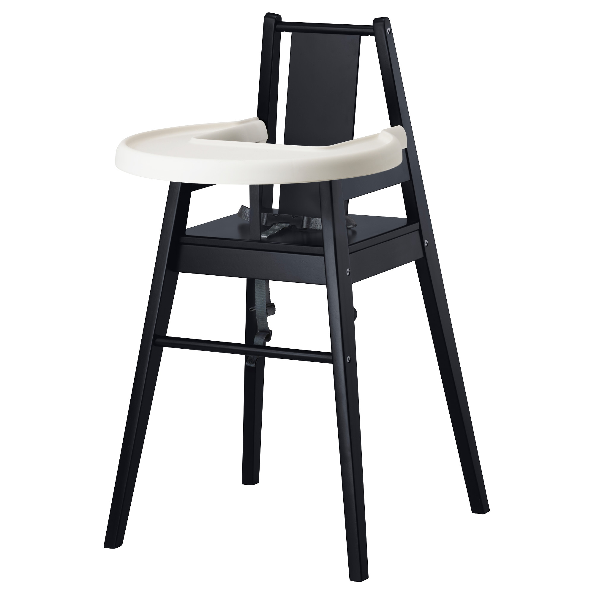 bla mes high chair with tray ikea