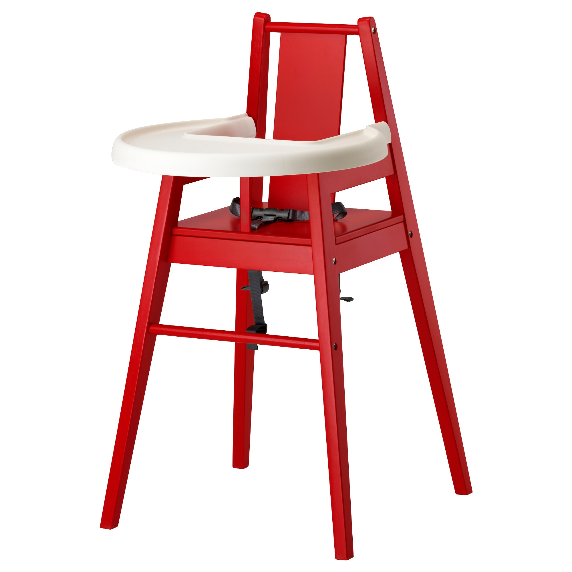 Baby chair for restaurant - Bl Mes Highchair With Tray Red Width 20 1 8 Depth 21