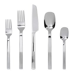 JUSTERA 20-piece flatware set