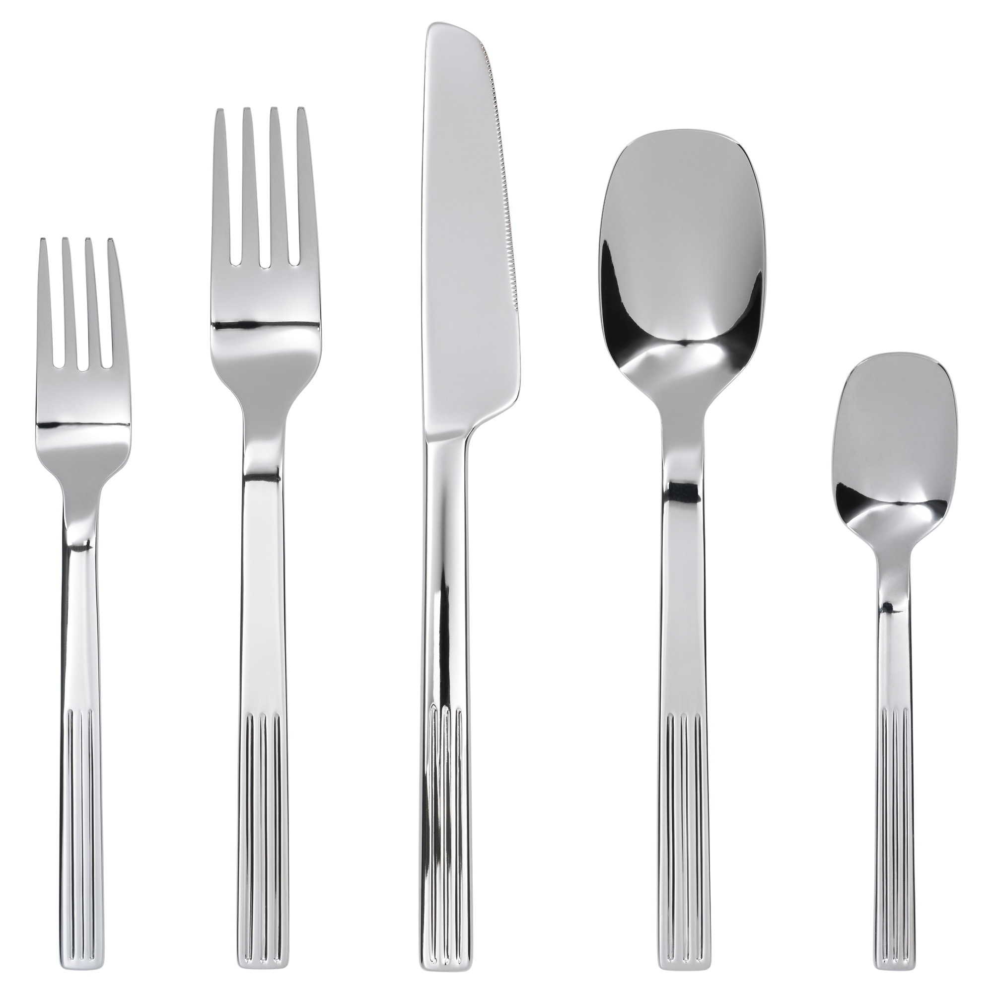 Table cutlery set stand - Flatware set with stand ...