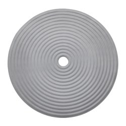 "DOPPA shower mat, dark gray Diameter: 18 "" Diameter: 46 cm"