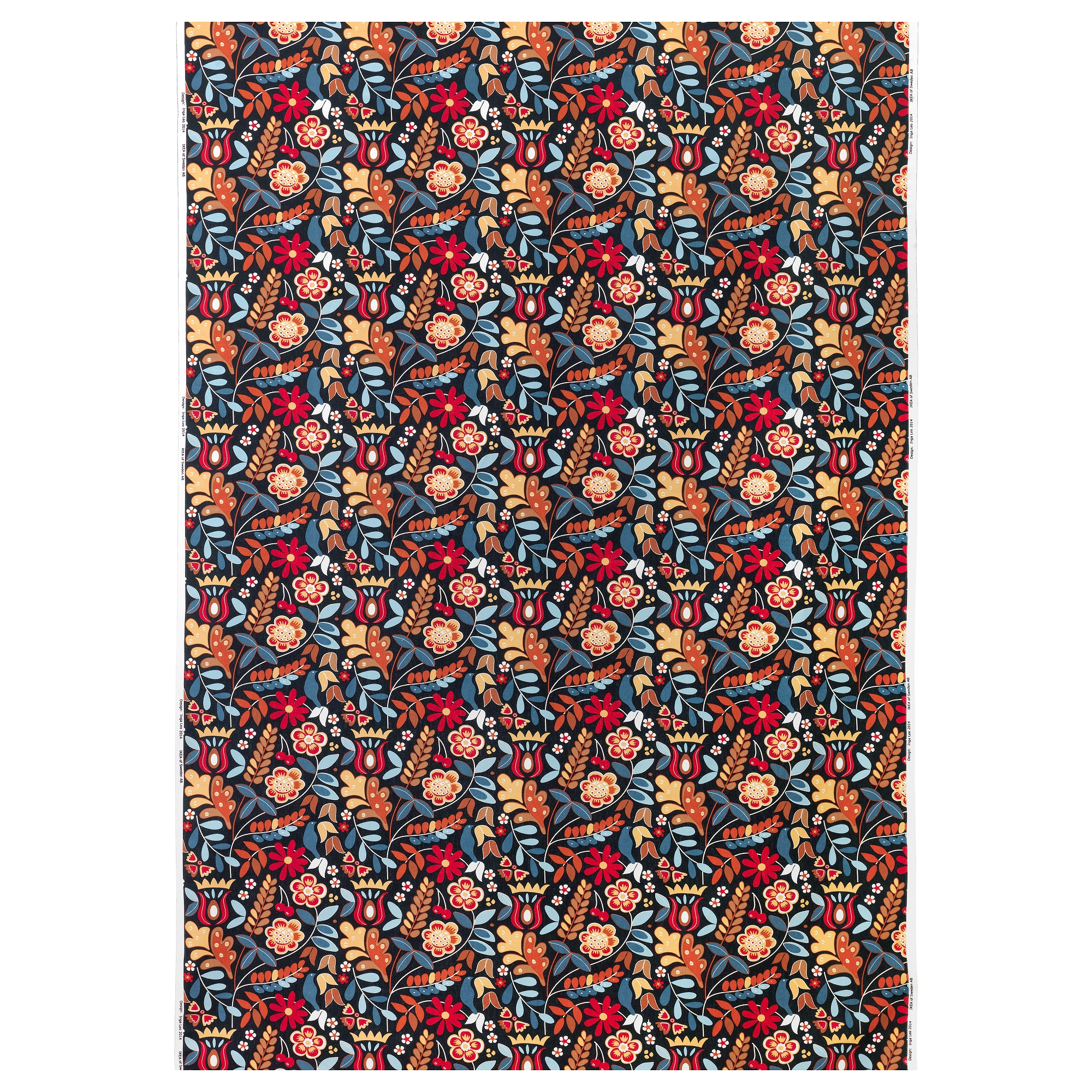 Ikea white curtains with red pattern - Tiger Ga Fabric Multicolor Dark Weight 0 75 Oz Sq Ft Width 59