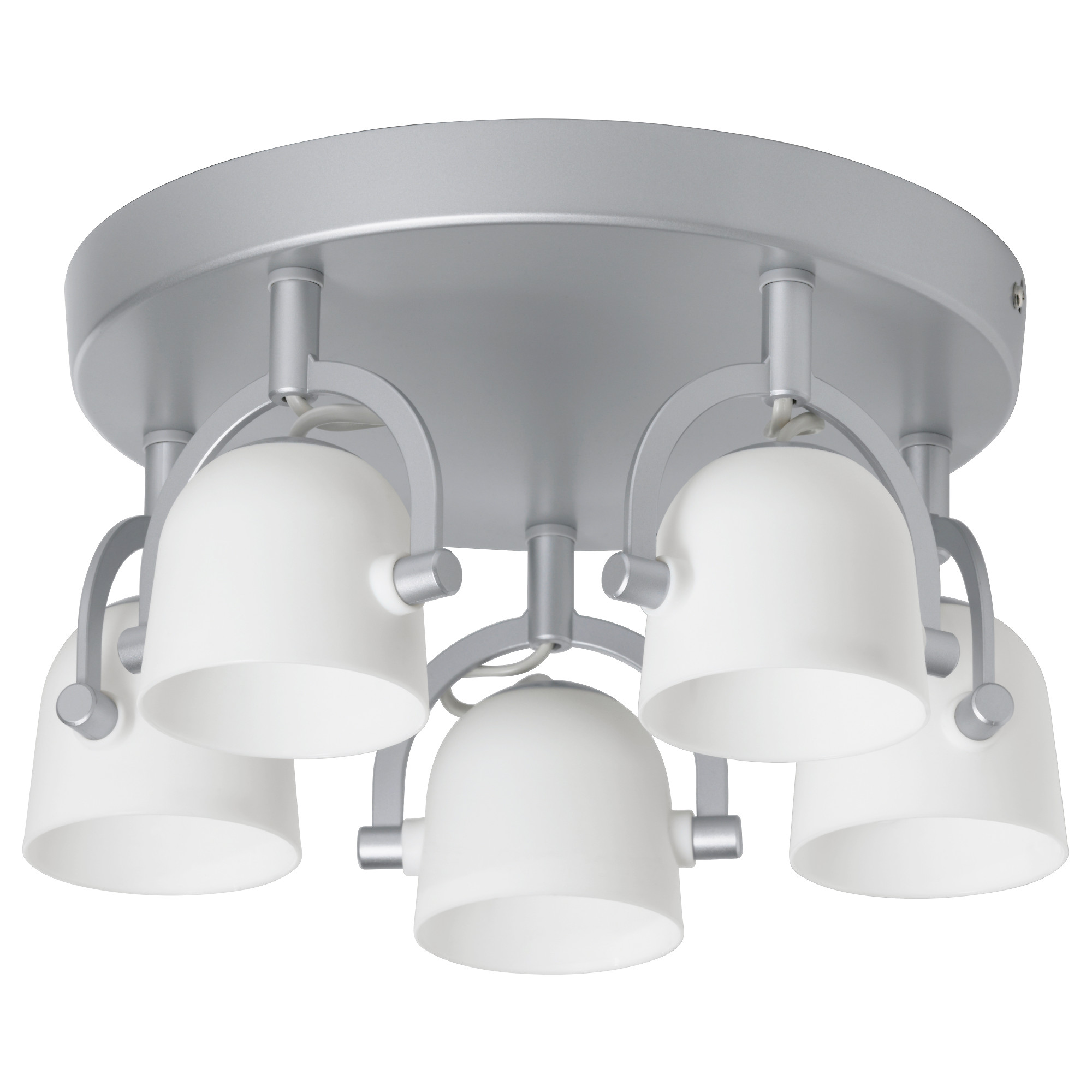 Svirvel ceiling light with 5 spotlights ikea mozeypictures