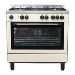 GRILJERA cooker, beige Width: 900 mm Depth: 635 mm Height: 905 mm