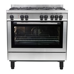 GRILJERA cooker, stainless steel Width: 900 mm Depth: 635 mm Height: 905 mm