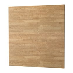 SIBBARP panel de pared, efecto roble laminado