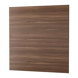 SIBBARP panel de pared, efecto nogal laminado