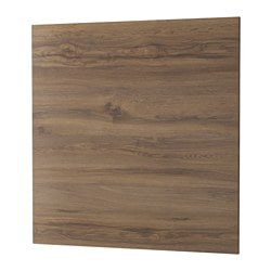 SIBBARP panel de pared, efecto roble oscuro, laminado