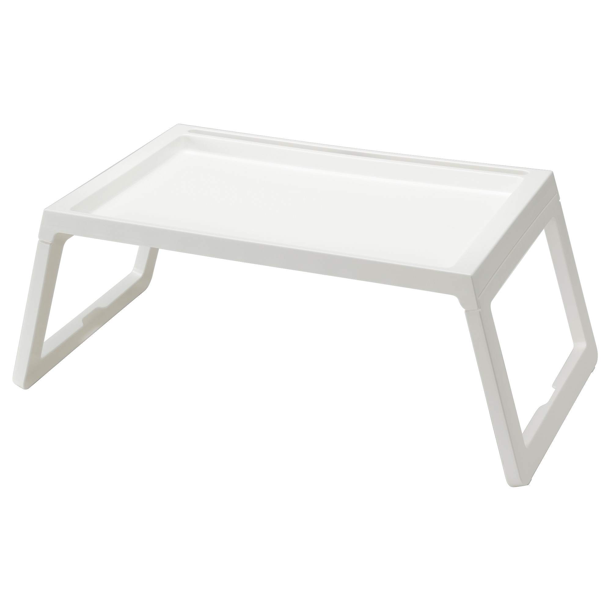 Klipsk Bed Tray White Ikea