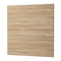SIBBARP panel de pared, efecto roble claro laminado