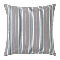 DAGGVIDE, Cushion cover, grey, multicolour