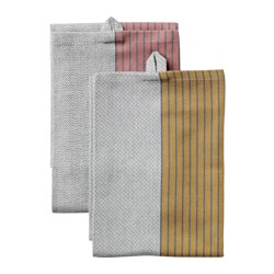 "SITTNING tea-towel, assorted colors Length: 28 "" Width: 20 "" Package quantity: 2 pack Length: 70 cm Width: 50 cm Package quantity: 2 pack"
